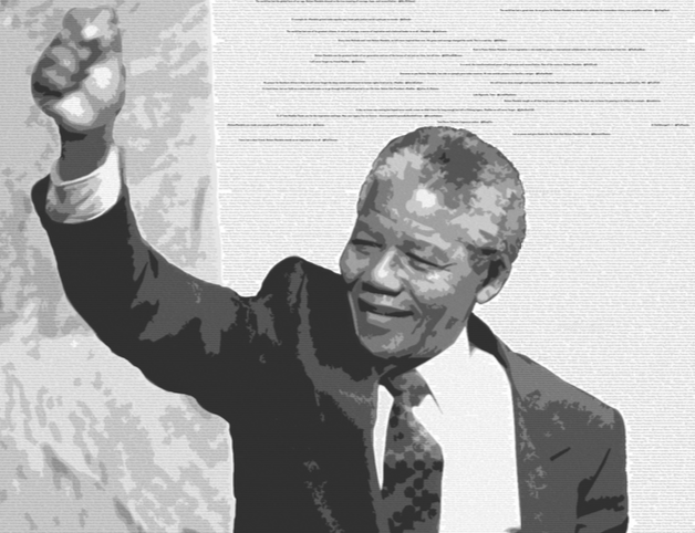 Farewell Nelson Mandela, on Twitter. By Miguel Rios