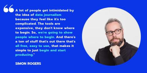 A new free online course in Data Journalism